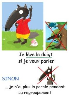 Règles de vie de la ... meute | Maitresse Myriam | Bloglovin' Behaviour Management, Classroom Management, Early Learning, Kids Learning, Education Positive, French Expressions, Petite Section, Skills To Learn, Special Education