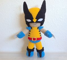Ravelry: Wolverine Inspired Amigurumi Doll pattern by Thu Nguyen