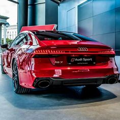 Audi Sport - Strong Red Luxury Cars World - Luxury Cars For Woman - us Our online magazine, especially for lovers of luxury luxuryworldcars selects more high-quality exclusive images of the most luxurious cars everyday. Visit the link and c Audi Suv, Rs6 Audi, Audi Rs7 Sportback, Audi Cars, Audi Sport, Sport Cars, 3008 Peugeot, Peugeot 205, C 63 Amg