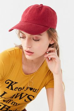 a582872f Slide View: 1: Washed Canvas Classic Baseball Hat Cool Gifts For Women, Hats