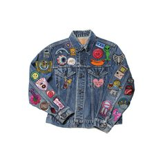 Failed to open page ❤ liked on Polyvore featuring outerwear, jackets, tops, coats and blue jackets