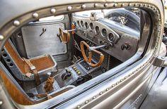 '39 Plymouth pickup, aircraft style interior...