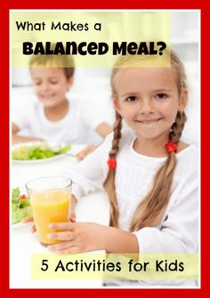Nutrition for Kids – What Makes a Balanced Meal?