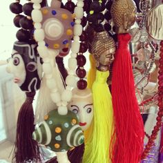 Le Toko Necklaces #buddah #colors #neon #fringes