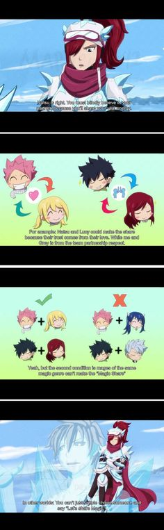 Magic Share - Part two - nalu- fairy tail<<natsu and Lucy's love Fairy Tail Nalu, Fairy Tail Ships, Fairy Tail Meme, Got Anime, I Love Anime, Anime Fairy, Natsu Y Lucy, Fariy Tail, Fairy Tail Guild