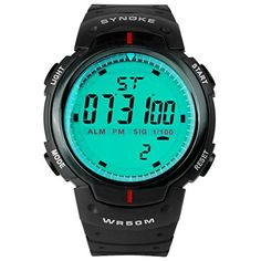 Hiwatch Waterproof Digital Mens Sports Wrist Watches Easy…
