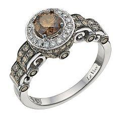 Le Vian 14CT Gold Carat Chocolate Diamond Ring