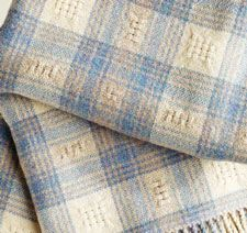 Soft woven throw blanket -free project