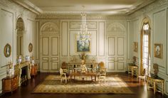 Mrs. James Ward, Thorne miniature period rooms. French Dining Room of the Periods of Louis XV and Louis XIV   The Art Institute of Chicago