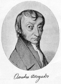 A-Amedeo Avogadro.  He is most noted for his contributions to molecular theory, including what is known as Avogadro's law. In tribute to him, the number of elementary entities (atoms, molecules, ions or other particles) in 1 mole of a substance is known as the Avogadro constant.