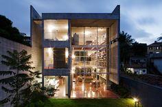 Querosene House, a Modern Concrete Residence by GrupoSP