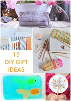 15 DIY Gift Ideas