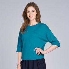 Cotton Mix Oversized Sweater #lauraashleystyle