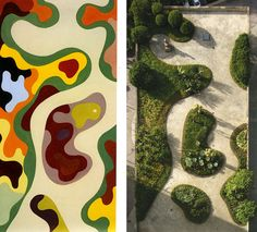 roberto burle marx at DuckDuckGo Landscape Architecture Drawing, Landscape And Urbanism, Park Landscape, Landscape Concept, Landscape Drawings, Landscape Plans, Cool Landscapes, Urban Landscape, Landscape Design