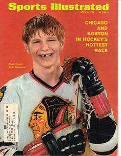 My mentor - Keith Magnuson, Chicago Blackhawks Blackhawks Hockey, Hockey Teams, Chicago Blackhawks, Hockey Players, Hockey Sport, Sports Teams, Chicago Hockey, 2013 Stanley Cup, Si Cover