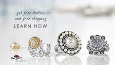 Lotti Dotties Lottie Dottie, Accessories Shop, Jewelry Shop, Charms, Gemstone Rings, Bling, Stud Earrings, Jewels, Gemstones