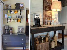 Pinspiration of the Day: Mantels, Coffee Bars, and Pallet Walls   allpreciousandpleasant