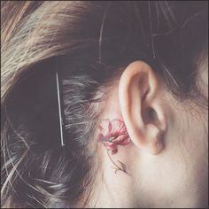 15 Tiny Ear Tattoos That Are Even Better Than Piercings | Allure #ear #tattoo #tattooideas