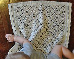 Sea of Dreams #Knit #Baby Blanket by Aimee Alexander