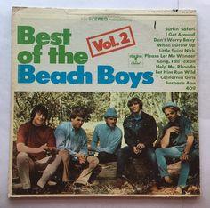 THE BEACH BOYS BEST OF VOL. 2 VINYL 1967 STARLINE RECORDS FREE SHIPPING LP