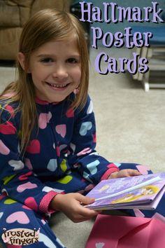 Hallmark Poster Cards #kidscards #cbias #shop