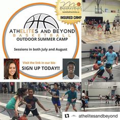 @athelitesandbeyond 2016 Outdoor Summer Basketball Camp(s) at Whyte Ridge Community Centre  CO-ED AGES 8-12 yr old  July 15-17 - Session #1 Dates & Times:  Friday July 15 - 5:30 pm - 7:00 pm Saturday July 16 - 9:30am - 12:00pm Sunday July 17 - 9:30am - 12:00pm  August 12-14 - Session #2 Dates & Times:  Friday Aug 12 - 5:30 pm - 7:00 pm Saturday Aug 13 - 9:30am - 12:00pm Sunday Aug 14 - 9:30am - 12:00pm  Coaches:  Taneesha Greaves Program Director and Head Coach Hometown: Winnipeg Manitoba…