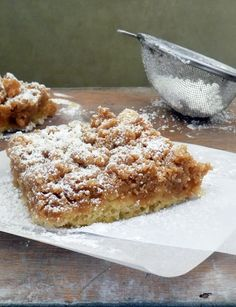 Life Tastes Good: New York Crumb Cake  Full of delicious crumb topping no one can resist! #cake #dessert #sweets