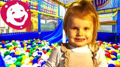 Adel in Playground for Kids having Fun with Balls, Slides and Children Happy Baby, Happy Smile, Kids Indoor Playground, Baby Smiles, Learning Colors, New Toys, Balls, Have Fun, Colours