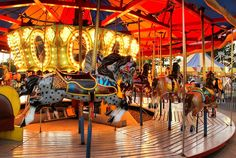 Hoffman's Playland Carousel - Family Park opened in 1952 and will be closing September 2014 | Flickr kages101