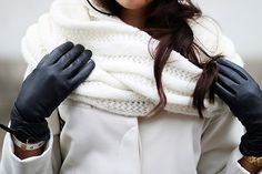 How to wear a fashion scarf women | PIN Blogger