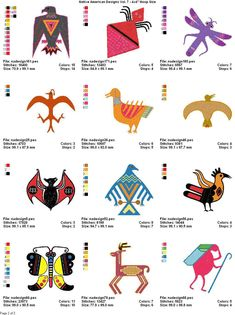 Native American Animals and other living things Native American Animal Symbols, Native American Patterns, Native American Design, Native American Crafts, American Indian Art, Native American History, American Indians, Native Design, Indiana