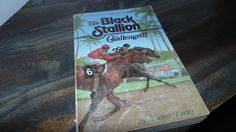 Vintage The Black Stallion Challenged 1980s Walter Farley Softcover Random House Horses by AltmodischVintage on Etsy