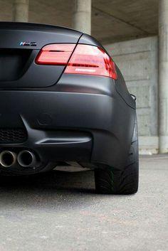 BMW E92 M3 matte black