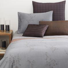 Calvin Klein Acacia Set of 2 Standard Pillow Shams Thistle Print Gray EUC Calvin Klein Rugs, Home, Home Bedroom, Bedding Sets, Calvin Klein Bedding, Bed, Bedroom Decor, Comforter Bedding Sets, Beds Online
