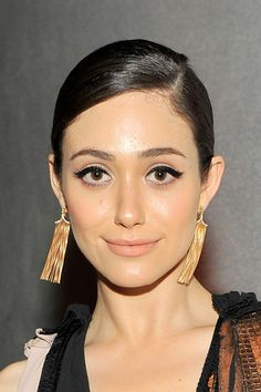 Emmy Rossum and  *those eyes*