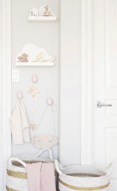 Boho Deco Chic: La habitación bebé de una princesa con zapatillas de ballet que te va a enamorar!
