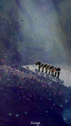 This is one of the most beautiful things I've seen... Hopefully Bangtan gets to see such a masterpiece
