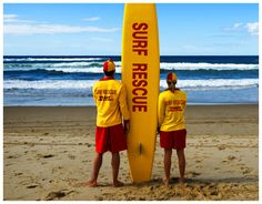 Surf Lifesavers help save so many people on the Aussie Beaches