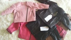 GORGEOUS leather jackets for kids - size 1-7 in a great range of colours  https://www.facebook.com/pages/My-First-Leather-Jacket/575869745820801
