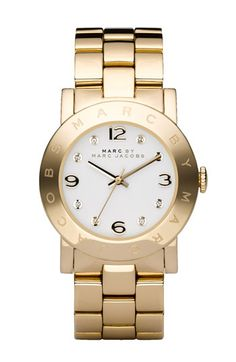MARC JACOBS 'Amy' Crystal Bracelet Watch, 36mm | Nordstrom