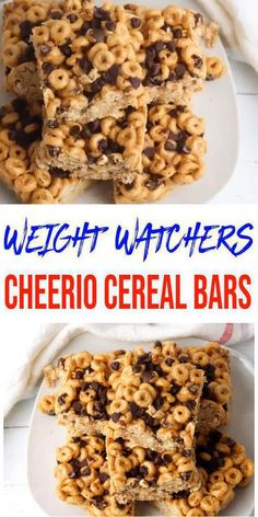 Peanut Butter Cheerio Bars, Peanut Butter Recipes, Snack Mix Recipes, Cereal Recipes, Chocolate Snacks, Chocolate Chips, Chocolate Recipes, Cheerio Treats, Cereal Treats