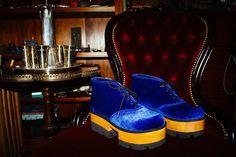 Aqui, os sapatos da 1ª coleção comercial da Okoko & Abel