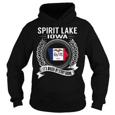 Cool #TeeForSpirit Lake Spirit Lake, Iowa -… - Spirit Lake Awesome Shirt - (*_*)