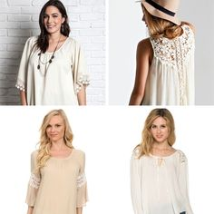 Cream of the Crop - New arrivals at GracieGene's are perfect for any outfit.
