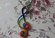 Colgante aluminio hecho de hilo multicolor   lleva una libélula y una estrella como amuleto. Se personifica a tu gusto   www.lamusadecanyella1.blogspot.com   correo: canyellabulevar@hotmail.com   Solo por correo certificado.               634 283 660       Isabel