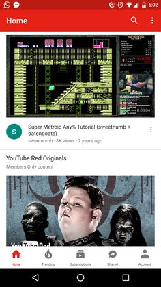 YouTube 11.45.58 Update with New Bottom Bar layout Super Metroid, Youtube Red, Data Plan, Latest Games, Tech News, Android Apps, Ads, How To Plan, Layout