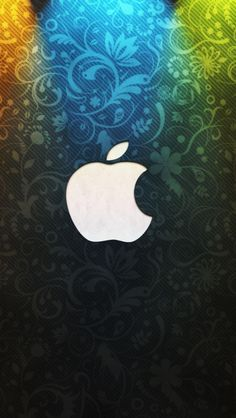 Beautiful Apple Logo Design iPhone 5s wallpaper