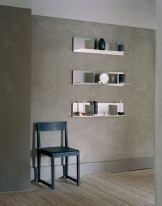 """Senses"" by Louisa Grey & Frama Laser Cut Aluminum, Aluminium Sheet, Interior Stylist, Create Space, Wall Shelves, Shelf, Decorative Objects, Copenhagen, Industrial Style"