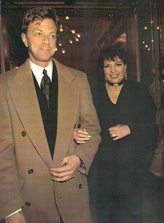 """Jim Caruso & Liza Minnelli, 1/13/98 Seeing """"Ragtime"""" on Broadway"""