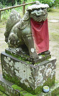 JAPANESE SHISHI | Color Red. Its Symbolizm in Japanese Buddhism and Japanese Shintoism